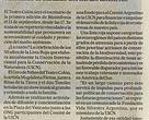 La primera biosinfonía llega al Teatro Colón, Diario La Nación 05/09/2015