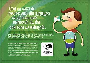 © Campaña de Vida Silvestre para dar a conocer el valor de las áreas protegidas