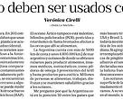 Diario La Nación 10 de junio de 2016