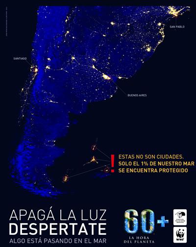 Estas no son ciudades. Sólo el 1% de nuestro mar se encuentra protegido