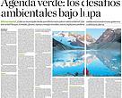 Ambiente: la agenda pendiente - Diario La Razón 19 de julio de 2016