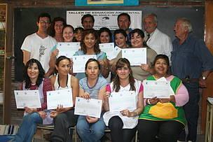 © Taller de educación ambiental para docentes de Piedra del Águila